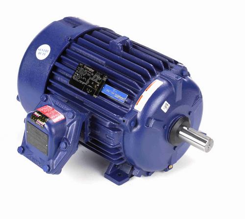 U028A Marathon 20 hp 1800 RPM 3-Phase 256T Frame TEFC (rigid base) 575V Marathon Motor