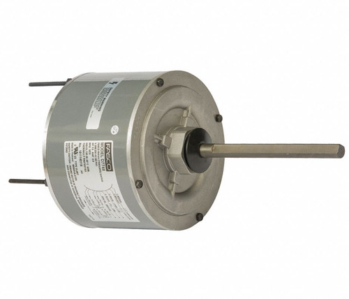 "Fasco D7748 Motor | 1/3 hp 1075 RPM 5.6"" Diameter 208-230 Volts"