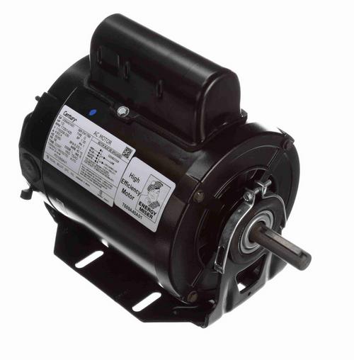 PD1050AV1 Century 1/2 hp 1800 RPM 56 Frame (Resilient Base) 115V/208-230 TEAO Poultry Duty Motor # PD1050AV1