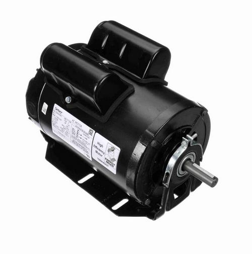 PD6104AV2 Marathon 1 hp 1800 RPM 56 Frame (Resilient Base) 115V/230 TEAO Century Poultry Duty Motor