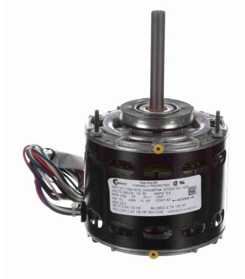 "Model 429 Century 1/5 hp 1050 RPM 3-Speed CW 5"" Diameter 208-230V Century # 429"