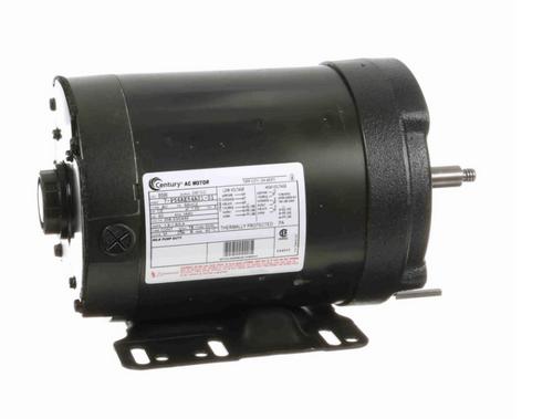 B596 Century 1/2 hp 3600 RPM 56C Frame (Rigid Base) 3 Phase TENV 208-230/460V Century Milk Pump Motor # B596