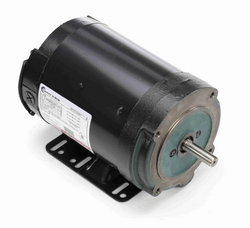 B598 Century 3/4 hp 3600 RPM 56C Frame (Rigid Base) 3 Phase TENV 208-230V Century Milk Pump Motor # B598