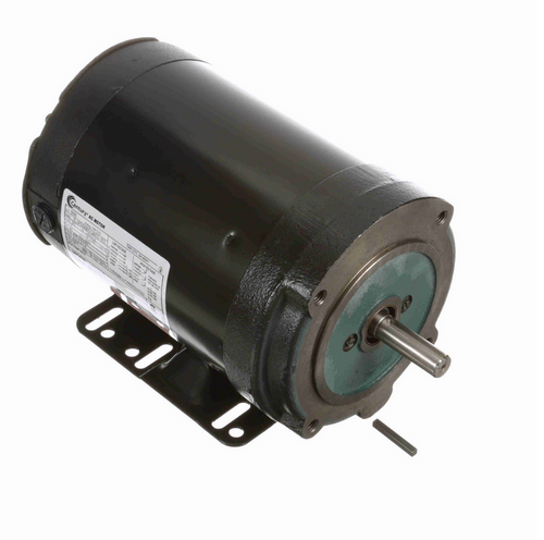 B595 Century 1 hp 3600 RPM 56C Frame (Rigid Base) 3 Phase TENV 208-230/460V Century Milk Pump Motor # B595