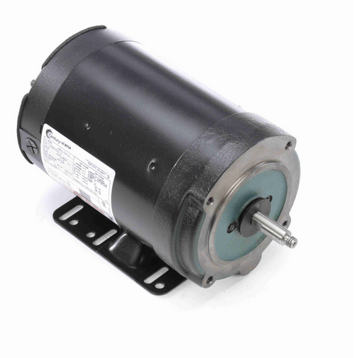 B599 Century 1 hp 3600 RPM 56C Frame (Rigid Base) 3 Phase TENV 208-230/460V Century Milk Pump Motor # B599
