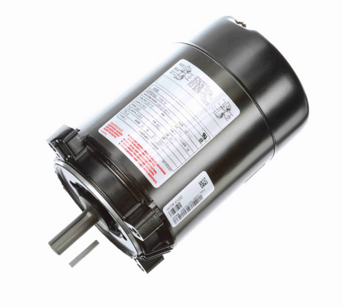 K1032 Century 1/3 hp 3600 RPM 1-Phase 56C Frame ODP (no base) 115/230V Century Jet Pump Motor # K1032
