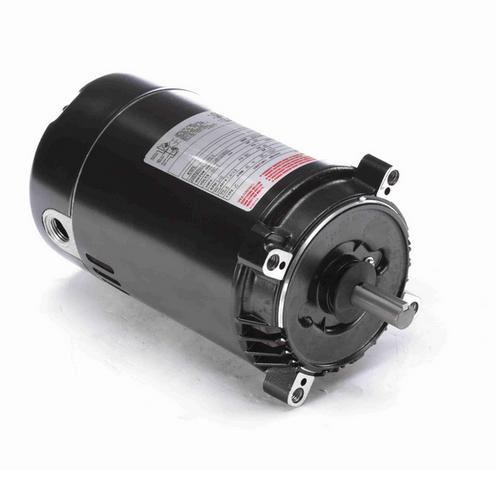 K1072 Century 3/4 hp 3600 RPM 1-Phase 56C Frame ODP (no base) 115/120V Century Jet Pump Motor # K1072