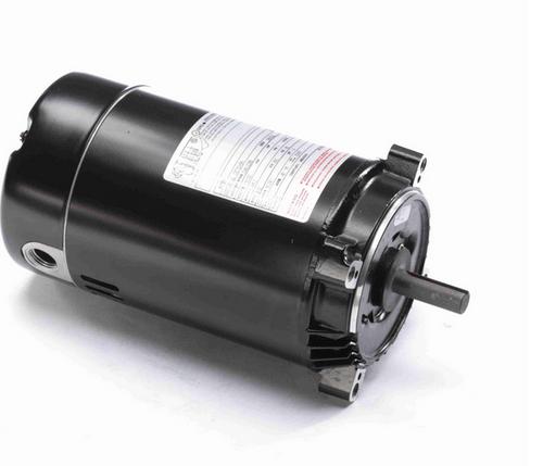 K1100 Century 1 hp 3600 RPM 1-Phase 56C Frame ODP (no base) 115/230V Century Jet Pump Motor # K1100