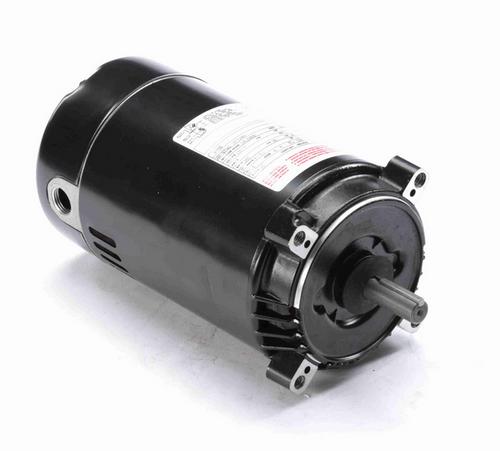K1102 Century 1 hp 3600 RPM 1-Phase 56C Frame ODP (no base) 115/120V Century Jet Pump Motor # K1102
