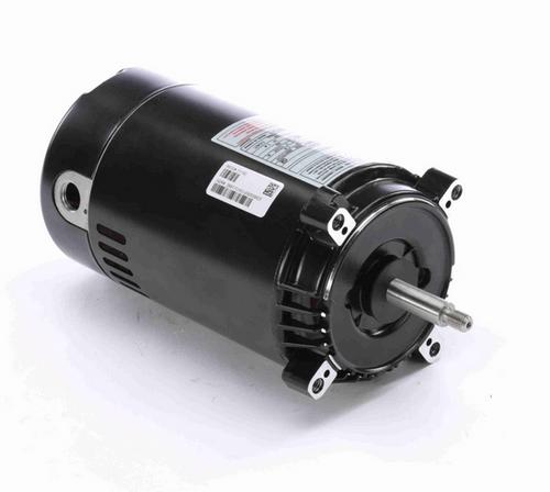 T1102 Century 1 hp 3600 RPM 1-Phase 56J Frame ODP (no base) 115/230V Century Jet Pump Motor # T1102