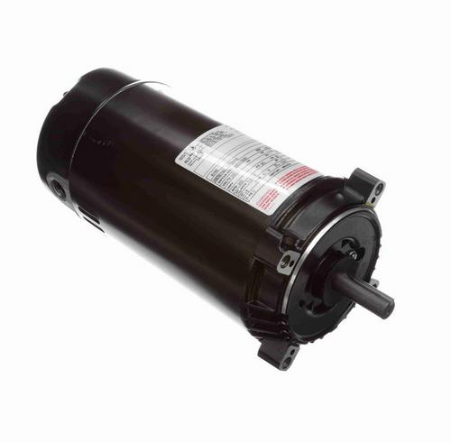 K1152 Century 1-1/2 hp 3600 RPM 1-Phase 56C Frame ODP (no base) 115/120V Century Jet Pump Motor # K1152