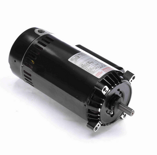K1200 Century 2 hp 3600 RPM 1-Phase 56C Frame ODP (no base) 115/230V Century Jet Pump Motor # K1200