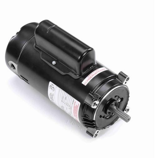 K1202 Century 2 hp 3600 RPM 1-Phase 56C Frame ODP (no base) 115/120V Century Jet Pump Motor # K1202