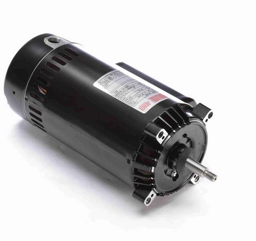 T1202 Century 2 hp 3600 RPM 1-Phase 56J Frame ODP (no base) 115/230V Century Jet Pump Motor # T1202