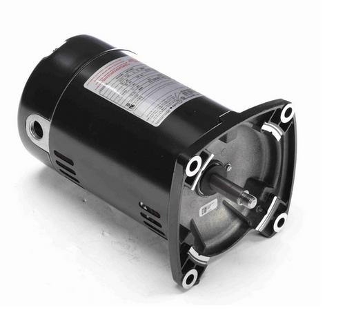 Q1032 Century 1/3 hp 3600 RPM 1-Phase 48Y Frame ODP (no base) 115/230V Century Jet Pump Motor # Q1032