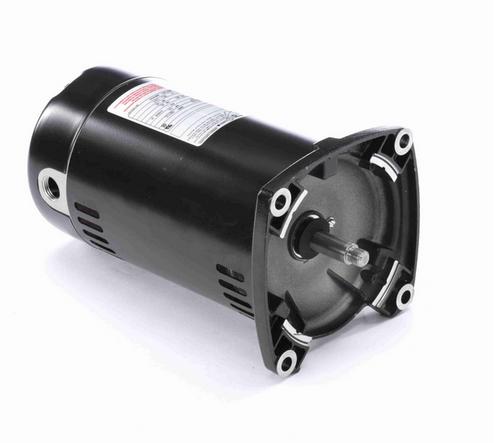 Q1072 Century 3/4 hp 3600 RPM 1-Phase 48Y Frame ODP (no base) 115/230V Century Jet Pump Motor # Q1072