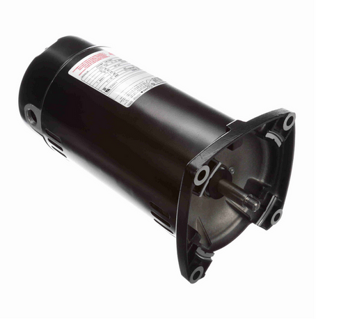 Q1102 Century 1 hp 3600 RPM 1-Phase 48Y Frame ODP (no base) 115/230V Century Jet Pump Motor # Q1102