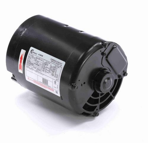 H155 Century 1/2 hp 3600/2850 RPM 3-Phase 56J Frame ODP (no base) 208-230/460V Century Pump Motor # H155