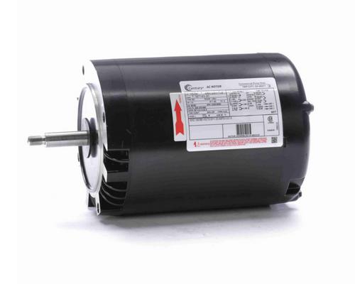 H506 Century 1 hp 3600/2850 RPM 3-Phase 56J Frame ODP (no base) 208-230/460V Century Pump Motor # H506