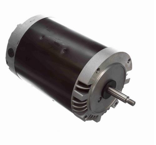 H607 Century 1-1/2 hp 3600/2850 RPM 3-Phase 56J Frame ODP (no base) 208-230/460V Century Pump Motor # H607