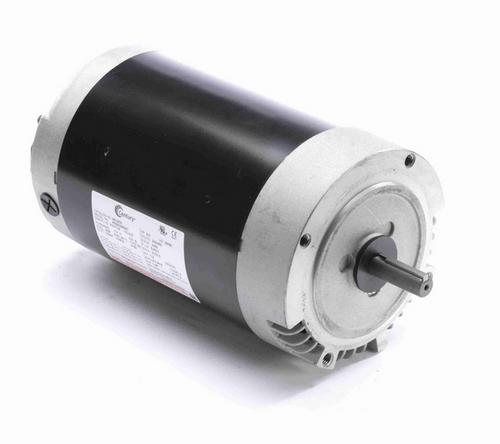 H612ES Century 2 hp 3600/2850 RPM 3-Phase 56C Frame ODP (no base) 230/460V Century Pump Motor # H612ES