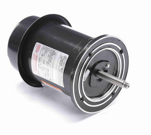 R1052 Century 1/2 hp 3600 RPM 1-Phase 48Y Frame ODP (no base) 115/230V Century Jet Pump Motor # R1052