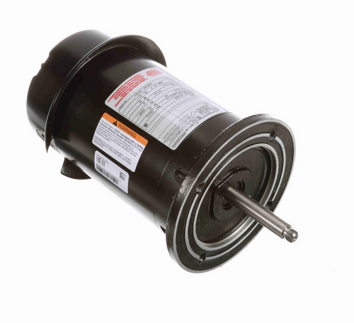 R1072 Century 3/4 hp 3600 RPM 1-Phase 48Y Frame ODP (no base) 115/230V Century Jet Pump Motor # R1072