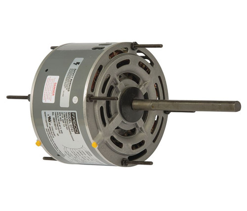 "Fasco D743 Motor | 1/5 hp 1075 RPM 5.6"" Diameter 208-230 Volts"