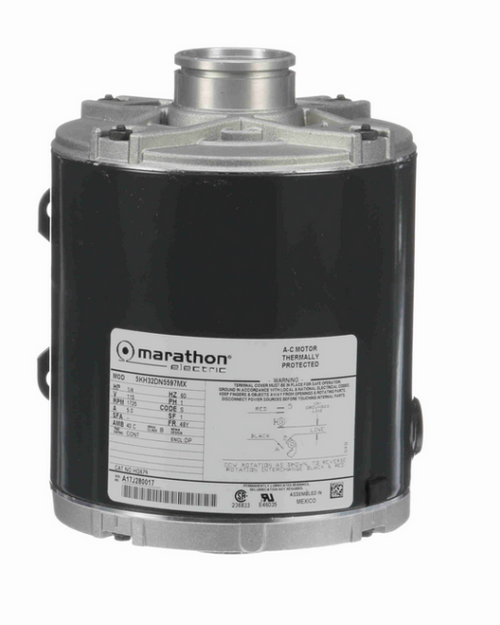 1/4 hp Carbonator Pump Motor 1800 RPM 115V, 48Y ODP Frame (rigid base) Marathon # HG679
