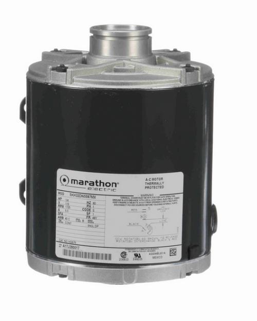HG679 Marathon 1/4 hp Carbonator Pump Motor 1800 RPM 115V, 48Y ODP Frame (rigid base) Marathon