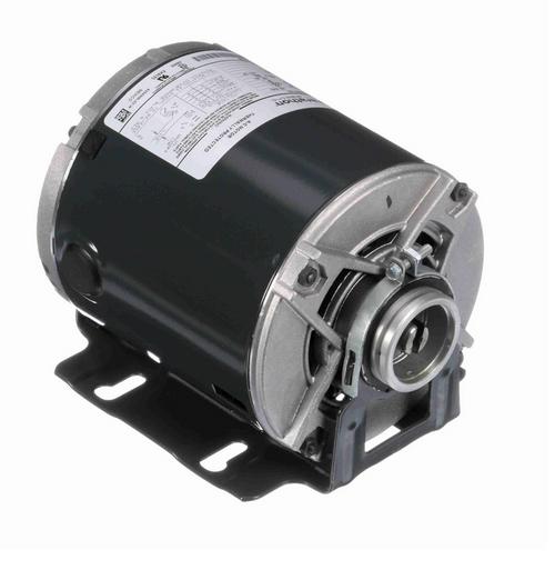 4805 Marathon 1/3 hp Carbonator Pump Motor 1800 RPM 100-120/200-240V, 48Y ODP Frame (resilient base)
