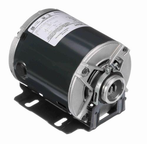 HG450 Marathon  1/3 hp Carbonator Pump Motor 1800 RPM 220-240V, 48Y ODP Frame (resilient base)