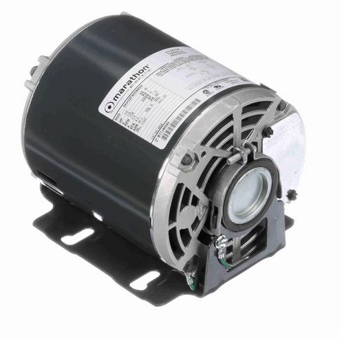 4406 Marathon 1/3 hp Carbonator Pump Motor 1800 RPM 115V, 48Y ODP Frame (resilient base)