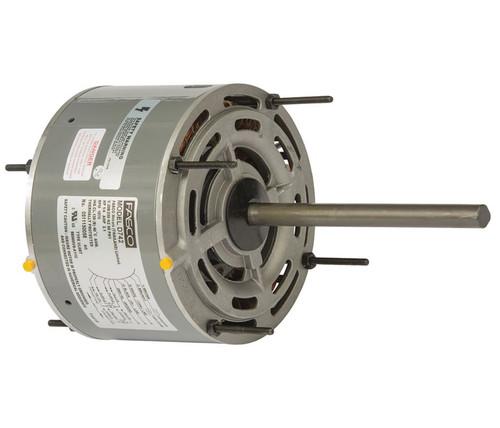 "Fasco D742 Motor | 1/4 hp 1075 RPM 5.6"" Diameter 208-230 Volts"