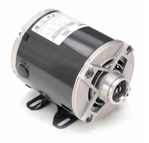 HG680 Marathon 1/3 hp Carbonator Pump Motor 1800 RPM 115V, 48Y ODP Frame (rigid base)