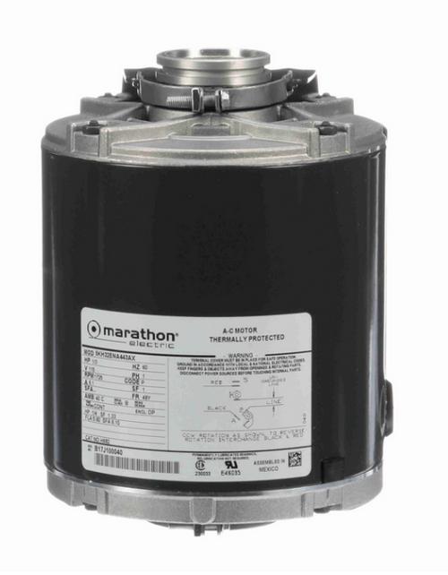 H682 Marathon 1/3 hp Carbonator Pump Motor 1800 RPM 115V, 48Y ODP Frame (resilient base)