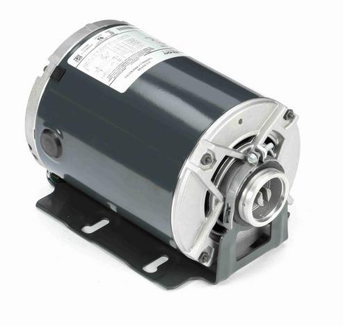 H684 Marathon 1/2 hp Carbonator Pump Motor 1800 RPM 100-120/200-240V, 48Y ODP Frame (resilient base)