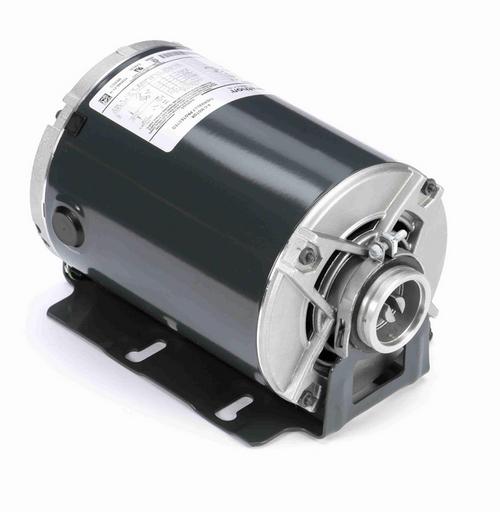 HG714 Marathon 3/4 hp Carbonator Pump Motor 1800 RPM 115/230V, 48Y ODP Frame (resilient base)