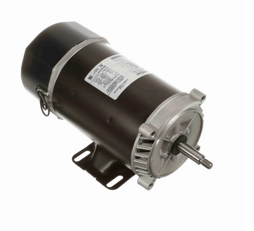 C1464 Marathon 1 hp 2-Compartment Jet Pump Motor 3600 RPM 115/230V ODP 56J Frame (rigid base)