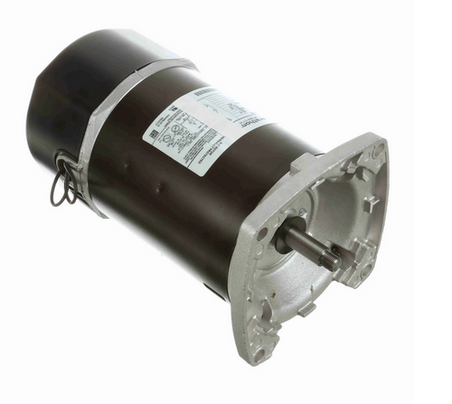 C1168 Marathon 1/3 hp 2-Compartment Square-Flange Jet Pump Motor 3600 RPM 115/230V ODP 56Y Frame (no base)