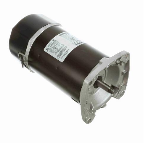 C1170 Marathon 3/4 hp 2-Comp. Square-Flange Jet Pump Motor 3600 RPM 115/230V ODP 56Y Frame (no base)