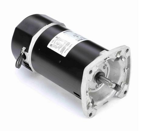 C1171 Marathon 1 hp 2-Comp. Square-Flange Jet Pump Motor 3600 RPM 115/230V ODP 56Y Frame (no base)
