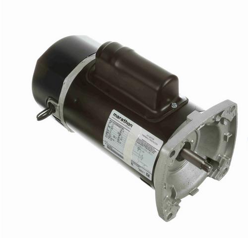 C1172 Marathon 1 1/2 hp 2-Comp. Square-Flange Jet Pump Motor 3600 RPM 230V ODP 56Y Frame (no base)