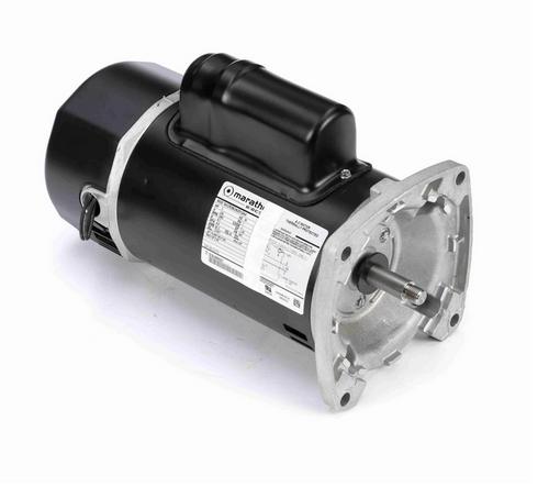 C1173 Marathon 1 1/2 hp 2-Comp. Square-Flange Jet Pump Motor 3600 RPM 230V ODP 56Y Frame (no base)