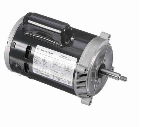 C329 Marathon 1/3 hp Basic Jet Pump Motor 3600 RPM 115/208-230V ODP 56J Frame (no base)