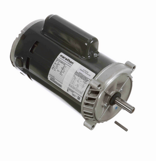CG732 Marathon 3/4 hp Basic Jet Pump Motor 3000 RPM 110/220V ODP 56C Frame (no base)