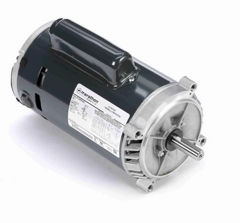 C334 Marathon 1 hp Basic Jet Pump Motor 3600 RPM 115/208-230V ODP 56C Frame (no base)