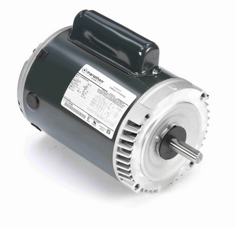 C336 Marathon 1 1/2 hp Basic Jet Pump Motor 3600 RPM 115/208-230V ODP 56C Frame (no base)