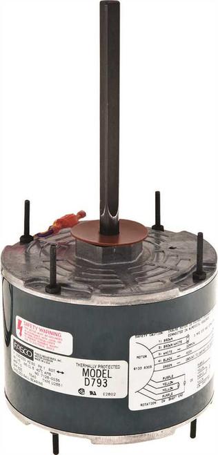 """1/8 hp 825 RPM 5.6"""" Diameter 208-230V Fasco # D793"""