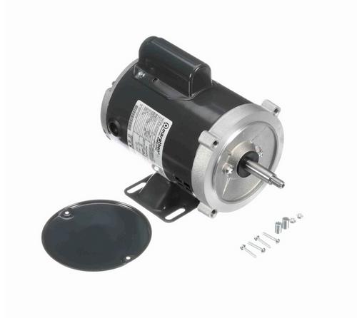 J054 Marathon 1/3 hp Basic Jet Pump Motor 3600 RPM 115/208-230V ODP 56J Frame (rigid base)